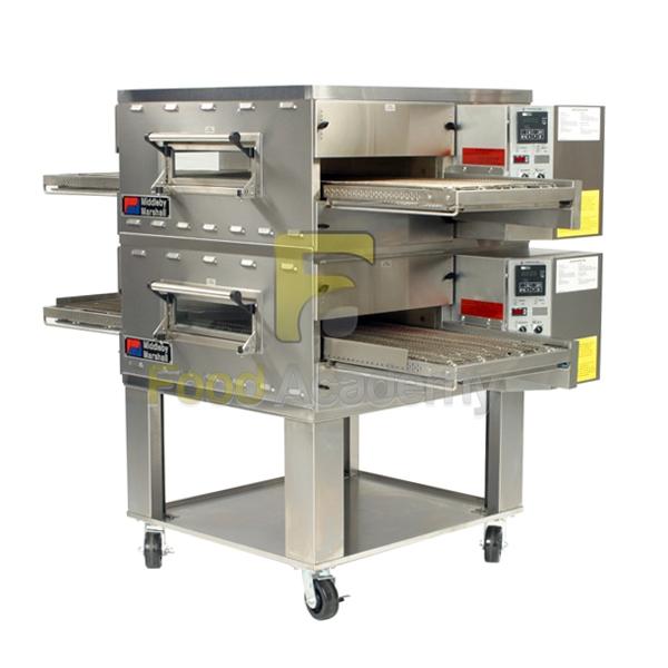 Печь конвейер для пиццы транспортер на чертеже